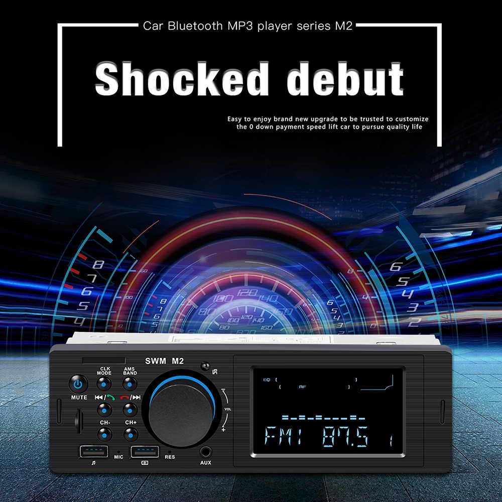Bluetooth Vintage Car Radio Mp3 Player Stereo Usb Aux Classic Car
