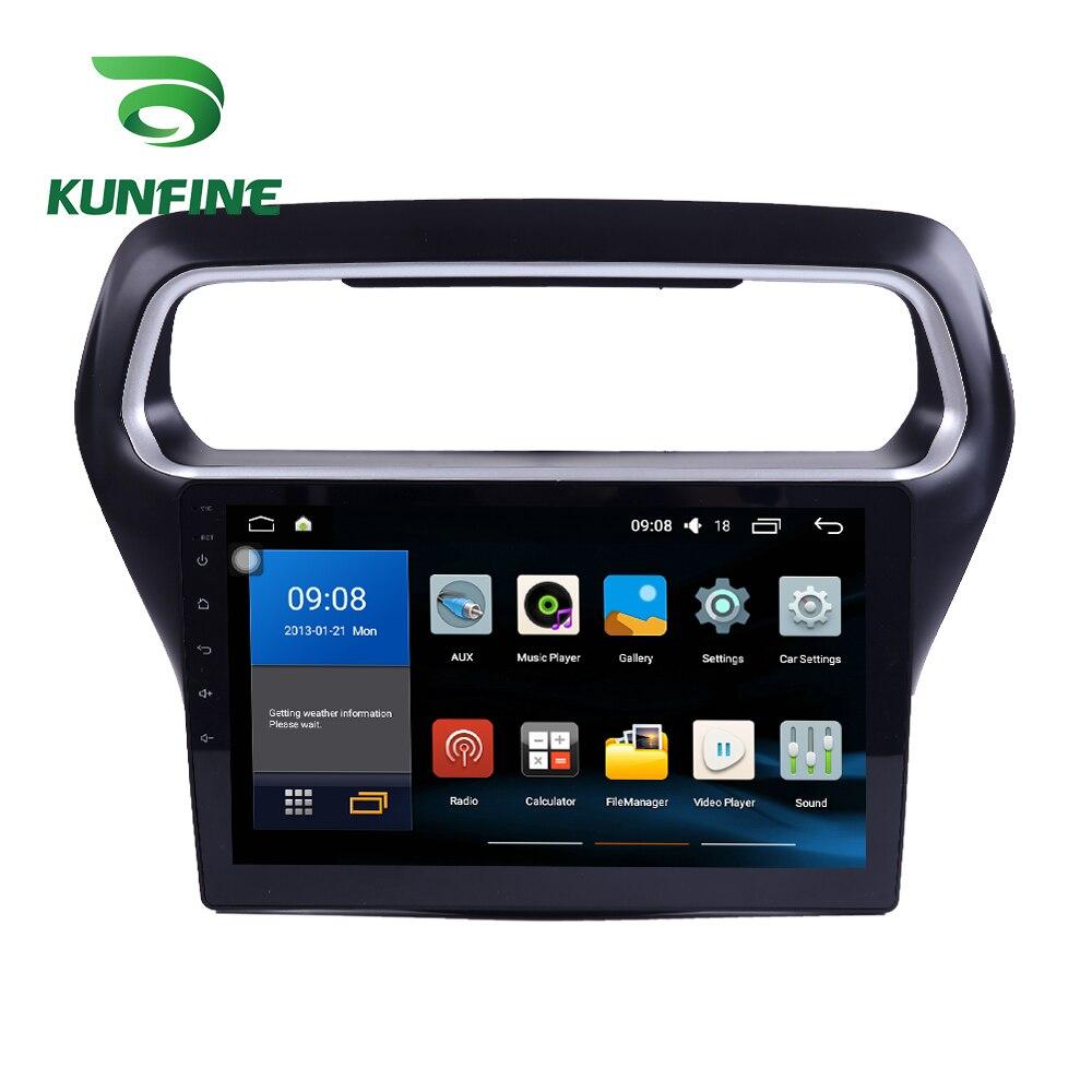 Octa Core 1024*600 Android 8.1 voiture DVD GPS lecteur de Navigation sans pont autoradio pour Ford Escort 2015 2016 2017 Radio Headunit
