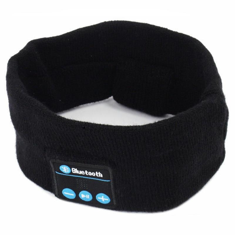 Wireless Bluetooth Stereo Headphone Headset Sports Sleep Headband Mic Big Power