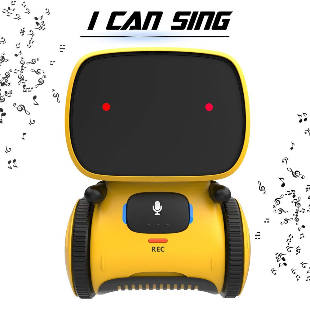 Newest Voice Control Touch Sensing Smart Interactive Robot Educational Toy Voice Message / Repeat Multiple Intelligent Robot ToyNewest Voice Control Touch Sensing Smart Interactive Robot Educational Toy Voice Message / Repeat Multiple Intelligent Robot Toy