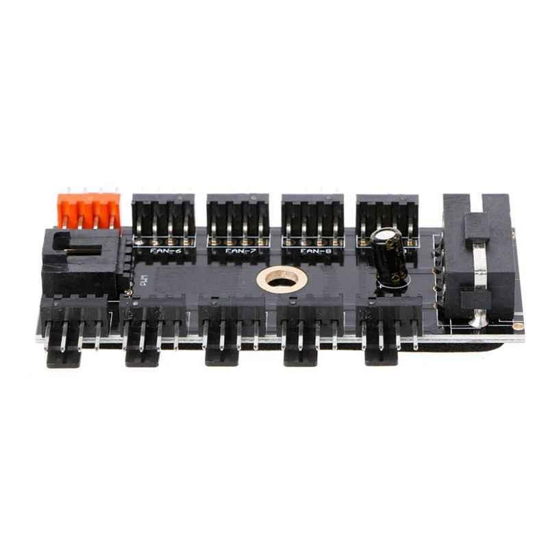 1 шт. IDE/SATA Molex от 1 года до 10 способ PWM охлаждающий вентилятор концентратор 12V 4-контактный Мощность разъем PCB адаптер для ПК компьютер водяного охлаждения Системы