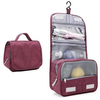 bda7673df947 Висячая водостойкая сумка для макияжа для путешествий красота ...