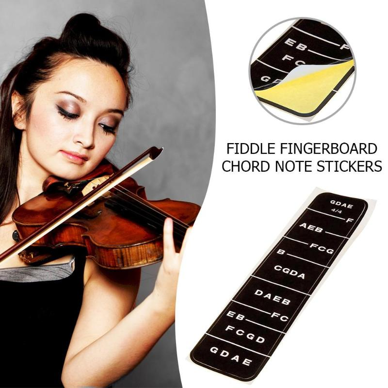 Musical Instruments Sports & Entertainment Honey 2pcs 4/4 Violin Beginer Learning Tools Violin Fiddle Fingerboard Chord Note Stickers Fret Markers Labels Beginer Learning Tools Comfortable Feel