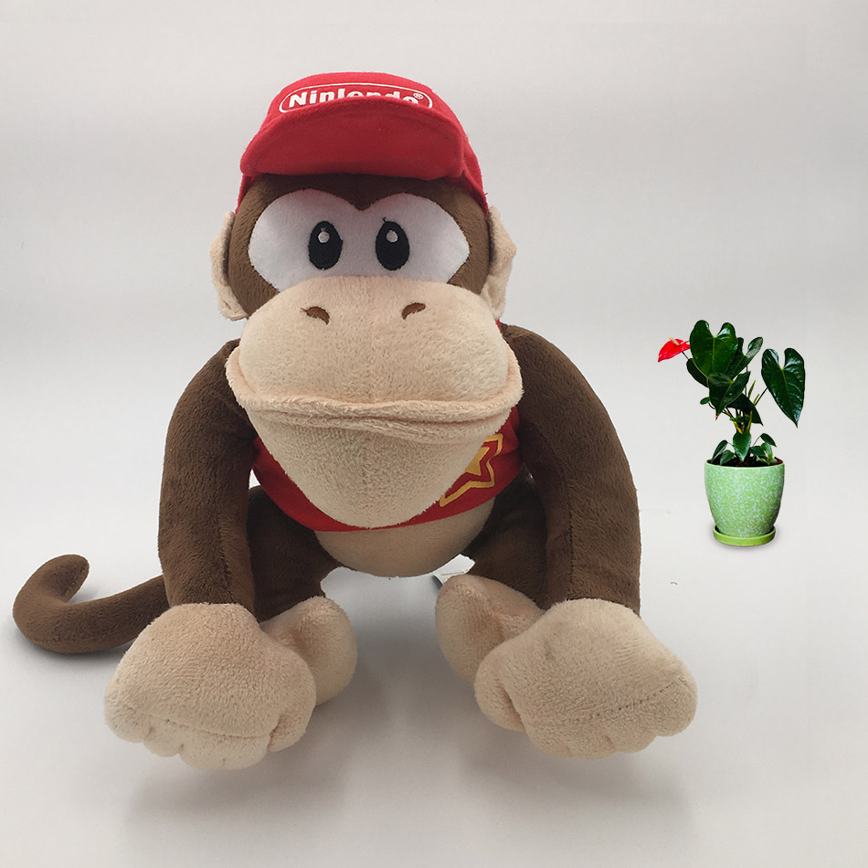 14 CM Anime Super Mario Bros Donkey Kong Diddy Kong Peluche Doll Plush Soft Stuffed Baby Toy Christmas Gift14 CM Anime Super Mario Bros Donkey Kong Diddy Kong Peluche Doll Plush Soft Stuffed Baby Toy Christmas Gift