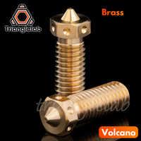Trianglelab Top qualität V6 volcano Düse für 3D drucker hotend 5 teile/los volcano upgrade kit für E3D volcano hotend