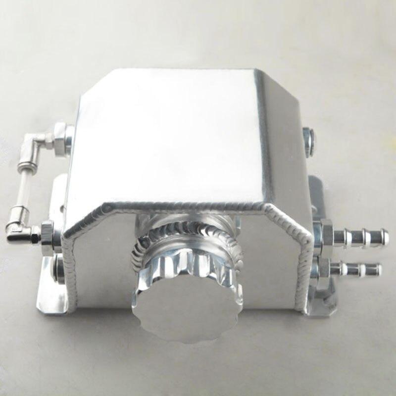 1 set universel 1L aluminium liquide de refroidissement radiateur trop plein récupération bouteille de réservoir d'eau