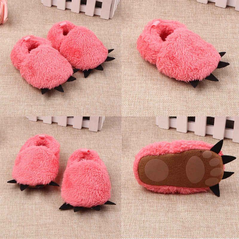 Brand New Infantile Del Bambino Della Ragazza del Ragazzo Scarpe Stivaletti Morbide Pantofole Suola Scarpette da culla Prewalker
