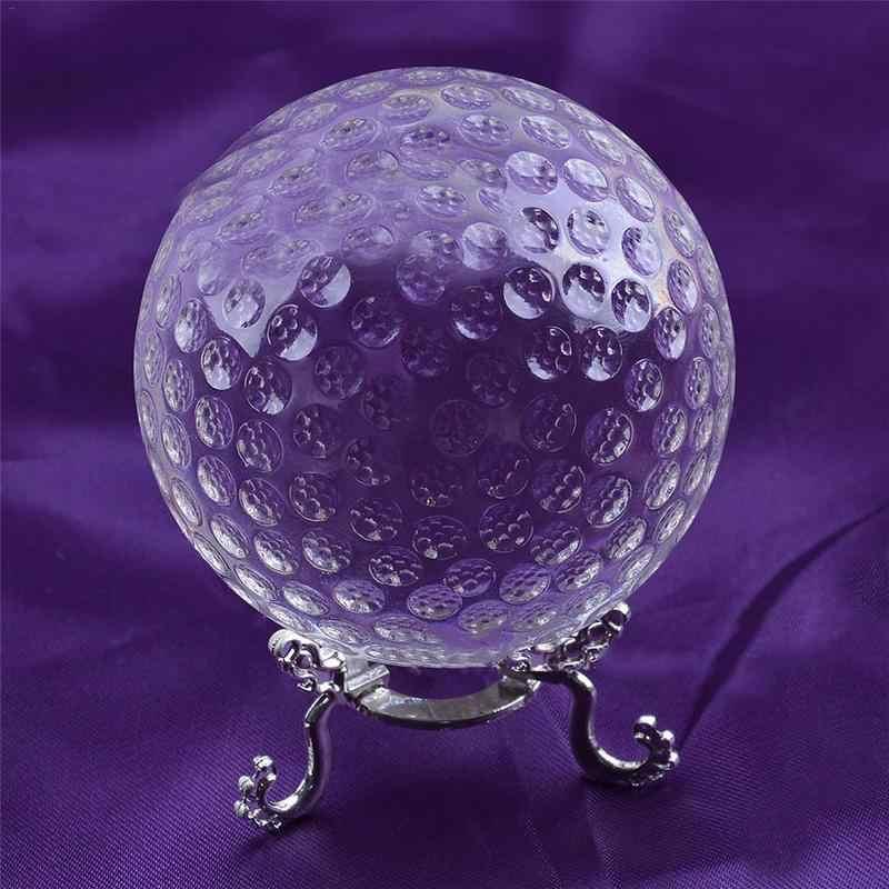 Хрустальный стеклянный шар для гольфа украшения дома подарок орнамент инновационный Трофей Аксессуары лазерная гравировка Глобус Миниатюрная модель