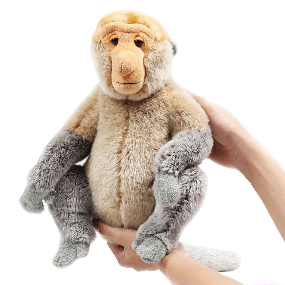 US $14 56 30% OFF|Zhwenyin Malaysia Tourism Year Plush Doll Proboscis  Monkey Mascot Plush Toy Doll Large Cartoon Doll-in Stuffed & Plush Animals  from