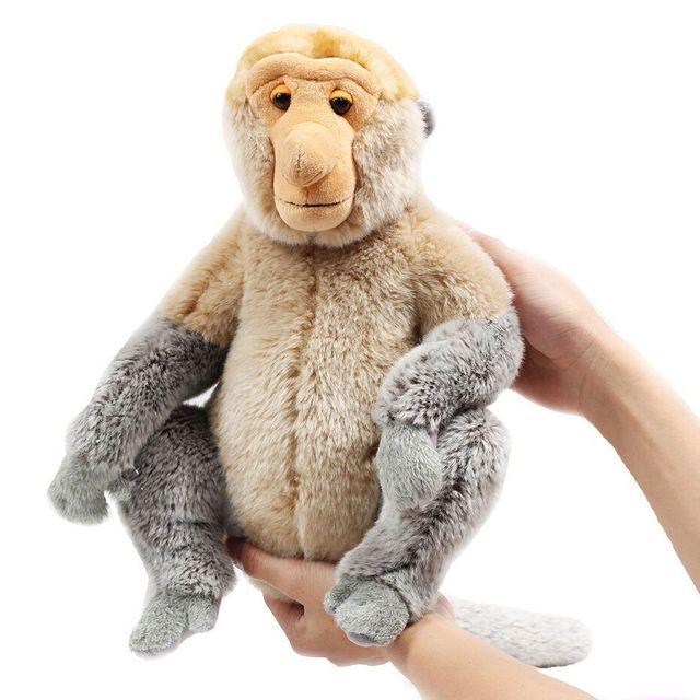 Zhwenyin Malezja Turystyka Rok Plush Doll Trąba Małpy Maskotki Pluszowe Zabawki Lalki Duża Lalka Kreskówki