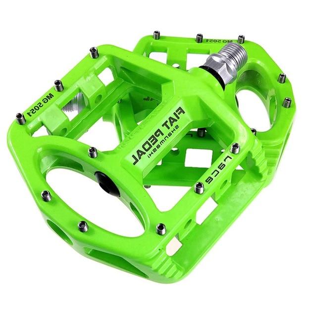 SHANMASHI 2PCS רכיבה על אופניים אופני דוושות שטוח אופניים דוושות מירוץ אנטי להחליק קל משקל מגנזיום סגסוגת MTB כביש אופני Peda