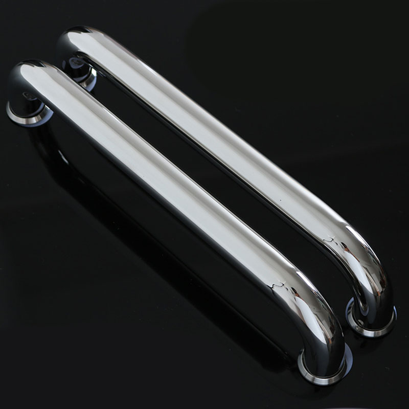 Entry Door Pull Handle Push 300mm Long Stainless Steel Modern Entrance Glass Kit modern entrance pulls handles 38 20 600mm entry door gate entrance door pull stainless steel hm86