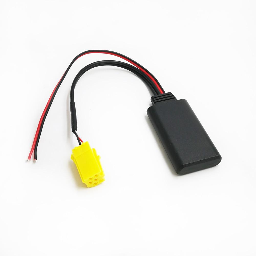 Biurlink Car Bluetooth Adapter Wireless Audio Jack MINI