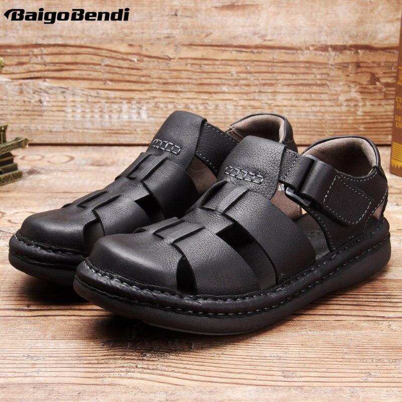 Hight quality men hollow out 어부 샌들 로마 스타일 비즈니스 맨 캐주얼 여름 신발 발목 랩 샌들-에서남성용 샌들부터 신발 의  그룹 2