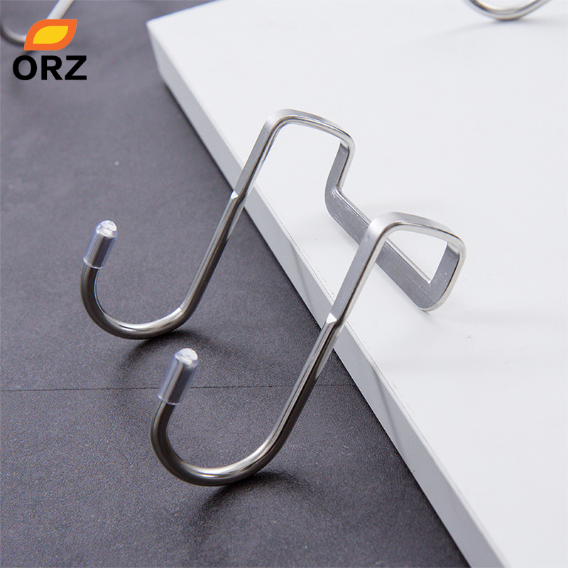 15 Pcs Pratical Heavy-duty S Shaped Iron Metal Hook Display Hooks Hanging Hooks Hanger For Garden Home Supermarket Clients First Robe Hooks Bathroom Fixtures