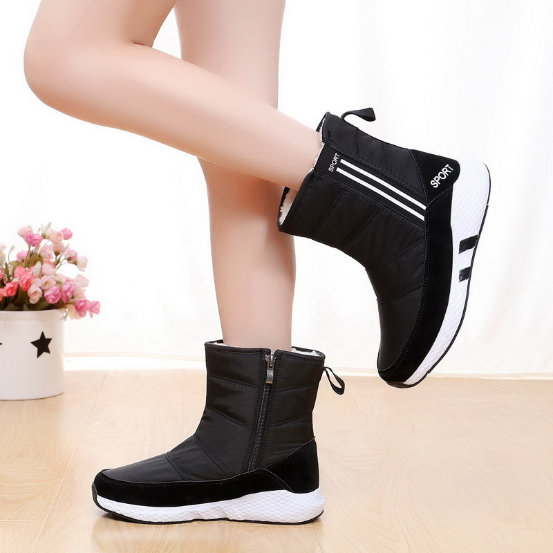 snow boots for Women winter boots platform ankle boots non-slip waterproof winter shoes fur warm Female Botas Mujer Botas plushsnow boots for Women winter boots platform ankle boots non-slip waterproof winter shoes fur warm Female Botas Mujer Botas plush