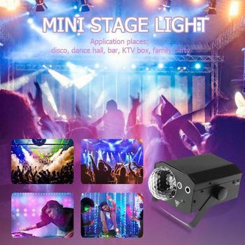 16 modelli di Proiettore Effetto Magico DJ Palla Controllo Vocale Luce Laser Della Fase Del Partito Della Lampada