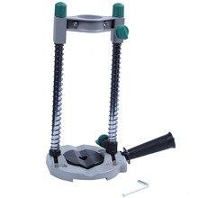 Präzision Bohrer Guide Rohr Bohrer Halter Stehen Bohren Guide mit Einstellbaren Winkel und Abnehmbare Griff DIY werkzeug