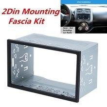 2din encaixes kit unidade de cabeça rádio instalação quadro geral 2din encaixes kit automotivo rádio player caixa