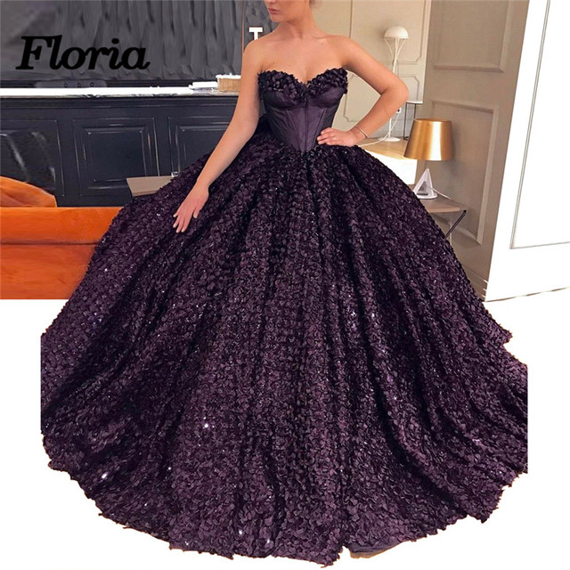 African Dubai Dark Purple Evening Dresses Robe de soiree Abiye Turkish  Formal Prom Dress Moroccan Kaftan Elegant Pageant Gowns 9ca6f068e669