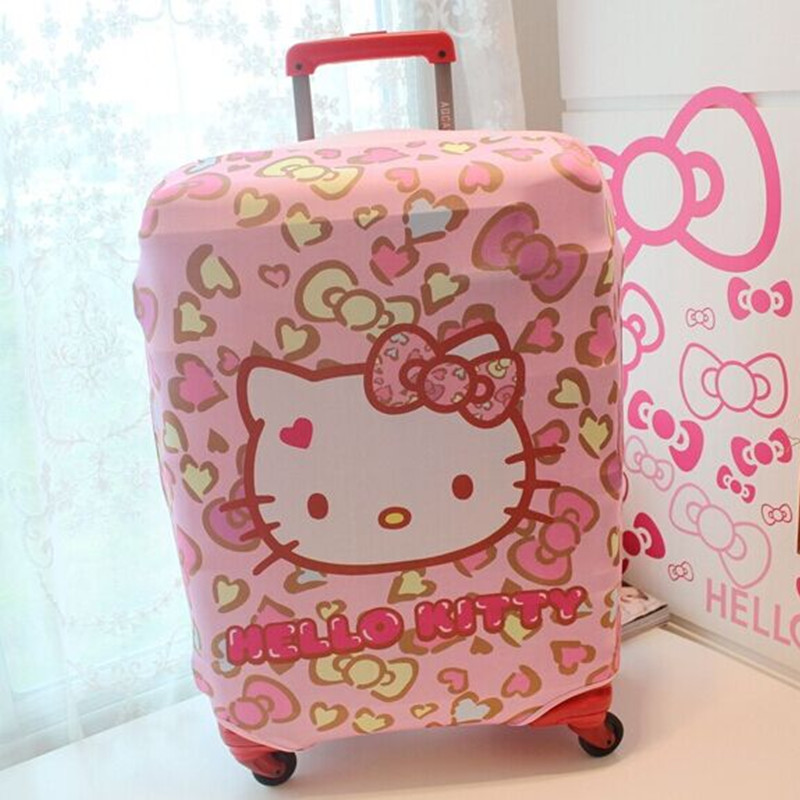 899f8e73ab24 Mihawk Cartoon Cute Elastic Luggage Protector Girl Travel Rod Luggage Dust Cover  Luggage Accessories Supplies Stuff Products-in Travel Accessories from ...