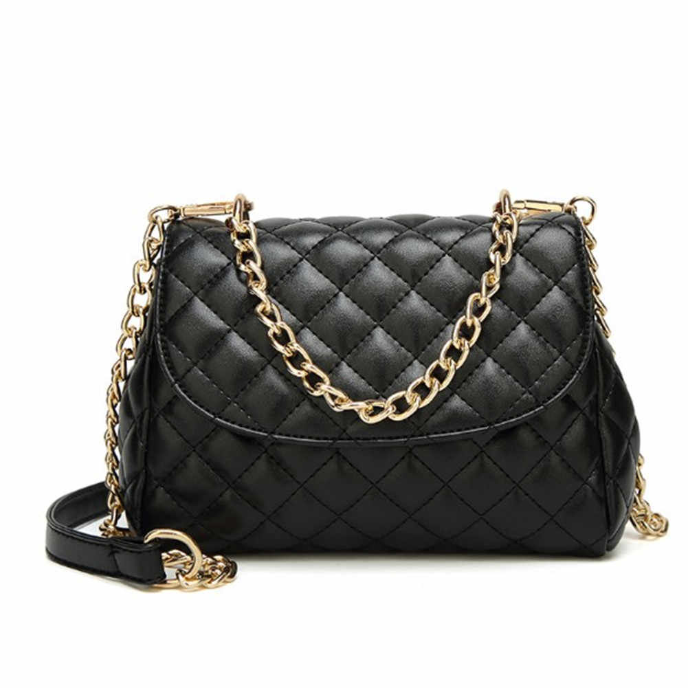 93b1cc8662cf Top Luxury Women Leather Handbags Designer Chain Shoulder Bags Famous Brand  High Quality Sac Main Femme