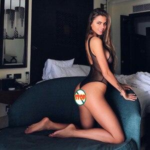 Женское нижнее белье, сексуальное прозрачное боди цветочное кружево