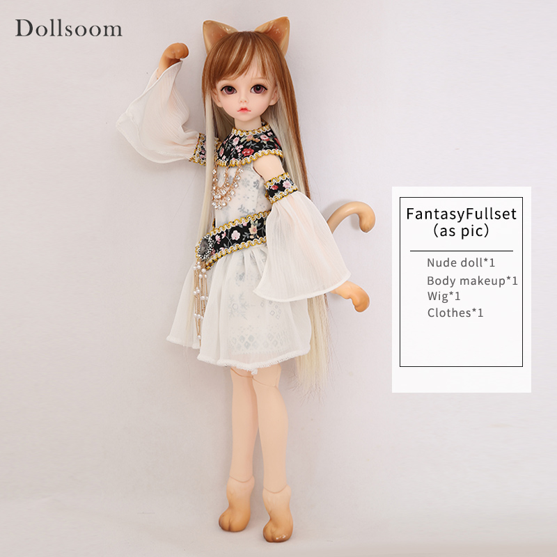 Trond&Kivi 1/4 BJD SD Doll Body Model Girls Boys Toy Gifts For Girls Birthday Xmas Best Gifts