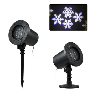 LED Snow Flake Projector Light