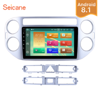 Seicane 9 Inch Android 8.1/8.0 Car Radio Multimedia For 2010 2011 2012 2013 2014 2015 VW Volkswagen Tiguan GPS Navigation Player