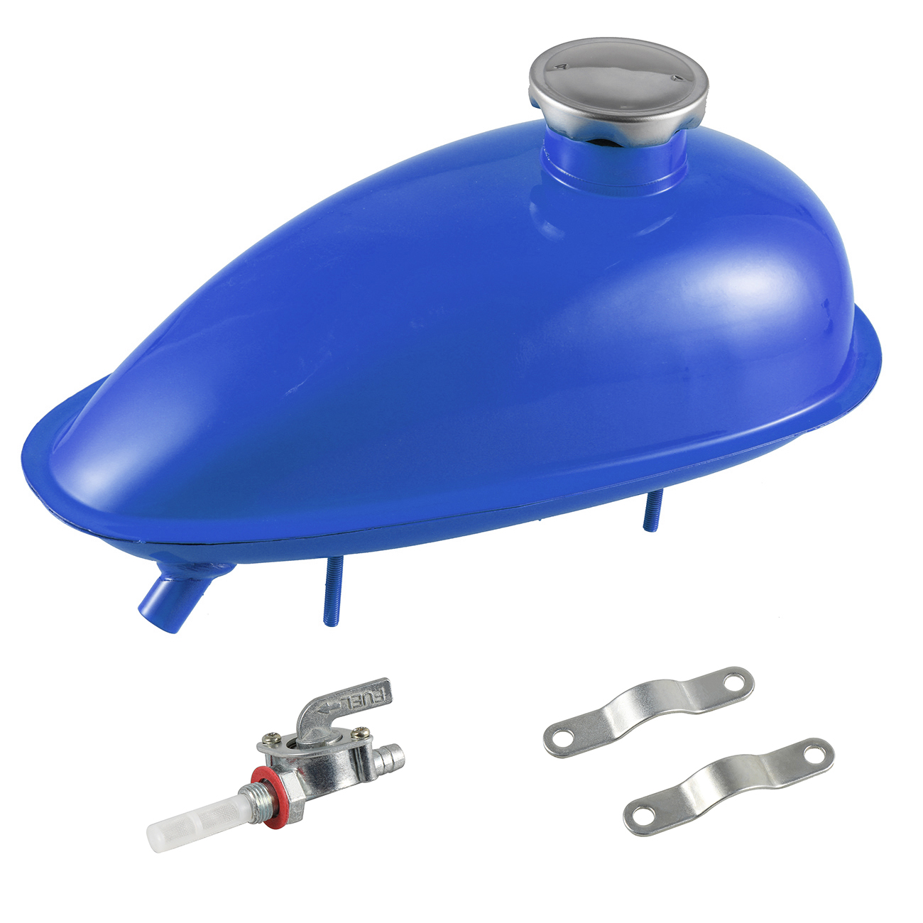 2L réservoir de gaz de carburant 80cc moteur motorisé vélo voiture processus de pulvérisation couleurs H/P pièces