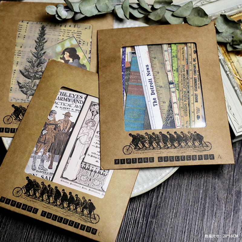 MyPretties Old Posters Scrapbook Background Papers Vintage Handcraft Papers For Junk Journal And TRAVELER'S Notebook