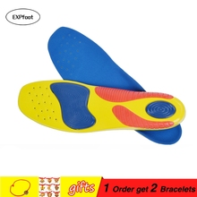 Gitibaba Plantar Fasciitis Insoles Orthotic Support the Heel and Provide Extreme Comfort Athletes Hike Running