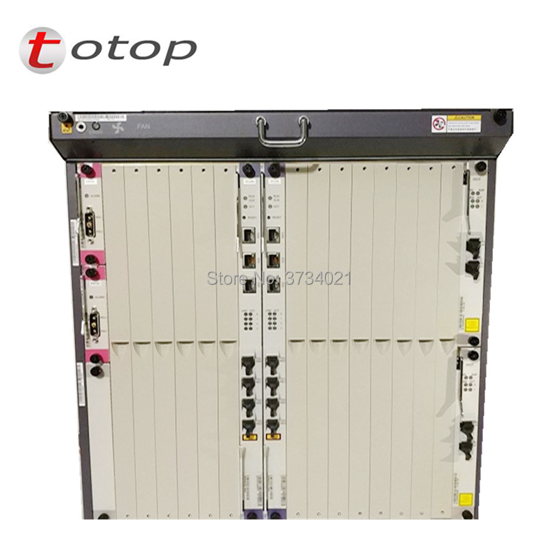 Huawei Ma5680t GPON Olt 1G With Chassis + SCUN*2 + GICF*2 + PRTE*2 + GPBD*2, 8 Ports MA5680T OLT Terminal De Linea Optica