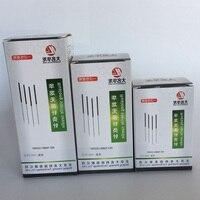 Novo 5000 pces/10 caixa hualong descartável acupuntura agulha 10 agulha um tubo