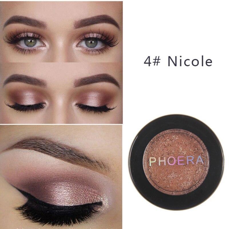 PHOERA Natural Matte Eye Shadow Palette Eyeshadow Pigment Shimmer Powder Waterproof Smoky Eyeshadow Makeup Maquillaje TSLM2(China)