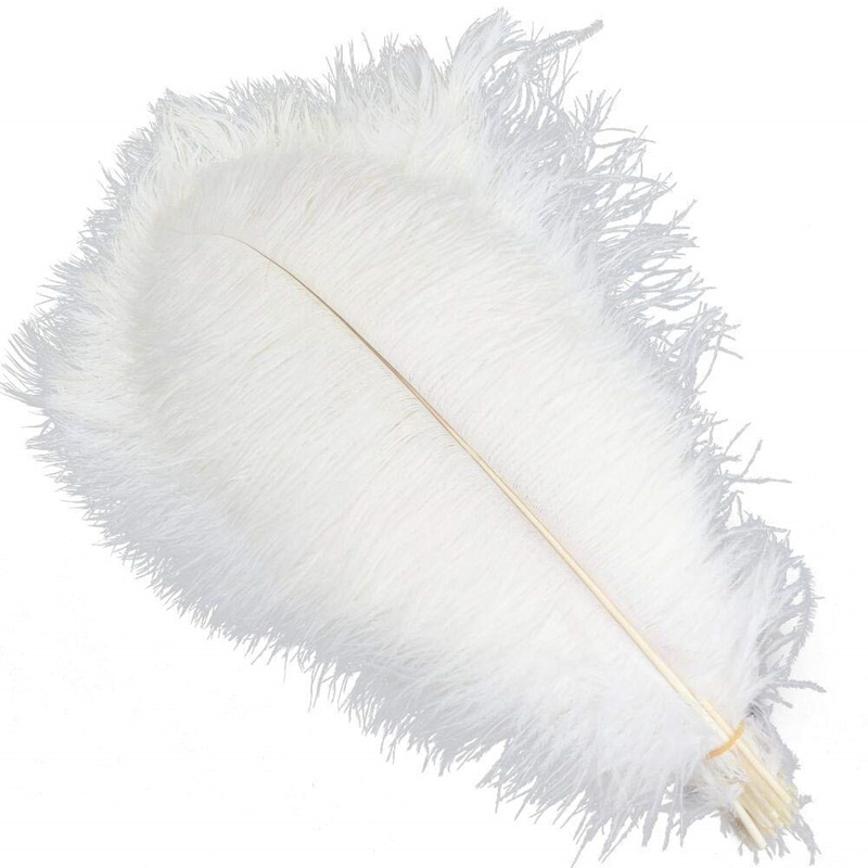 10pcs/lot 15-70CM Ostrich Feather  Stage Costume Wedding Decoration Feathers Party Supplies Carnival Dancer Decoration Plumage