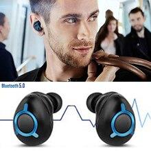 Wireless Bluetooth Earbuds Light Weright Sports Dual Mini Twins Sweatproof Stero Headset In-Ear Earpieces Earphones