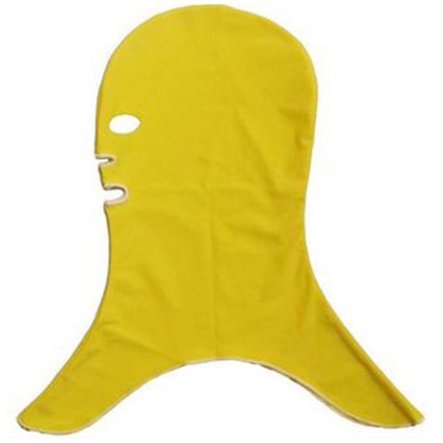 Facekini Swimming Caps Anti-UV Jellyfish Nylon Mask Ear Long Hair Diving  Hats For Men Women Summer Sun Protection 1950c6a785