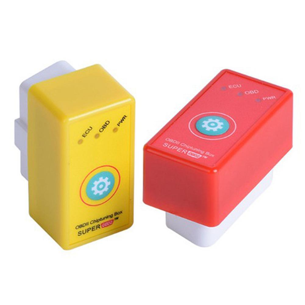 Car Code Scan Tools More Power Torque Super Nitro OBD2 Upgrade Reset Function ECU Chip Tuning Box Energy Conservation