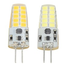 LED Bulb G4 Crystal 3W G4 COB Corn Silicone Lamp Light SMD2835 AC/DC12V LED Corn Lamp(China)