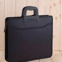 A4 Zipper Business carpetas storage of documents organizer Bags Portable File folder Documents bag