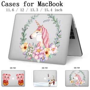 Image 1 - For Laptop Case For Notebook MacBook Sleeve 13.3 15.4 Inch For MacBook Air Pro Retina 11 12 With Screen Protector Keyboard Cove