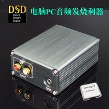 Ag + xmos decodificador de áudio xu208, hifi, suporte dac, dsd, com saída de 3.5mm