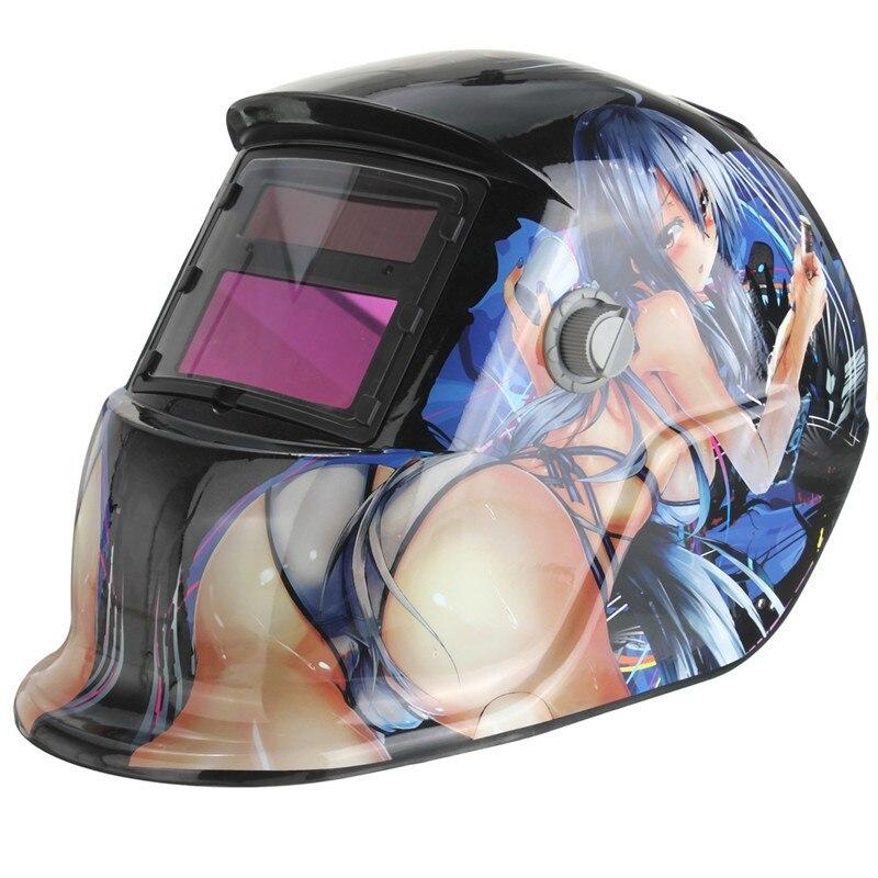 Solar Automatische Variable Licht Elektrische Schweißen Maske Tig Mig Mma Helm Für Schweißer Schweißen Maschine Oder Plasma Cutter Rabatte Verkauf
