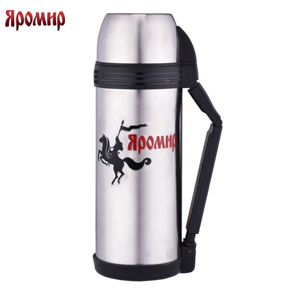 Vacuum Flasks & Thermoses Yaromir YAR-2004M thermomug thermos for tea Cup stainless steel water yaromir yar 2405m hot cup 400ml vacuum flask thermose travel sports climb thermal pot insulated vacuum bottle stainless steel