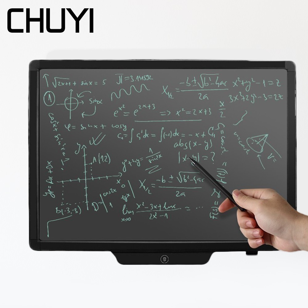 20 inch Graphic Tablet Electronic Blackboard Handwriting LCD Writing Pad Portable Notepad Drawing Tablet with Stylus Pencil image