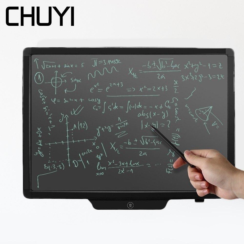 20 pouces tablette graphique électronique tableau noir écriture LCD bloc-notes Portable bloc-notes dessin tablette avec stylet crayon