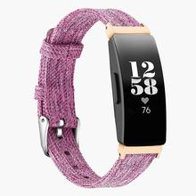 Smooth Watch Bands Classic Canvas Straps With Metal Connector Replace Durable Women Men Wristband Wear Resistant Fitness Tracker