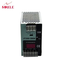 220v 12v din rail power supply hot sale LP-300-12 300W 12V 25A digital show voltage цены